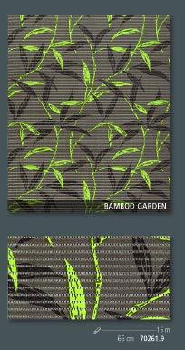 Friedola Bodenbelag Sympa Nova Premium Weichschaum Badematte Matte Bambus Bamboo Garden 65 breit Meterware