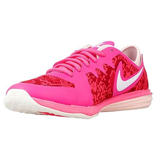 Nike Womens doppio Fusion Tr 3 Stampa addestratori correnti delle scarpe da tennis 704941 (UK 4,5 Us Rosa