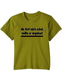 Touchlines Kinder T-Shirt Als Gott mich schuf..., KID253