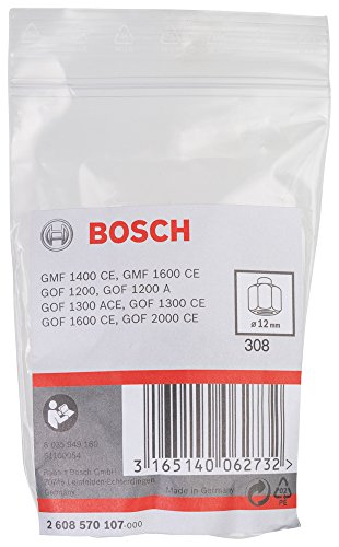 Bosch 2608570107 Collet/Nut Set for Bosch Routers