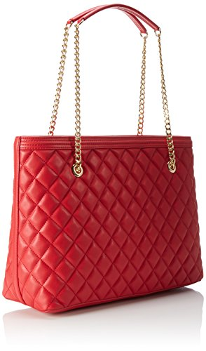 Love Moschino JC4012, Tote Femmes, 15x28x41 cm Rouge (red)