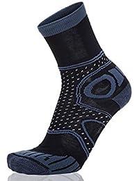 EIGHT SOX - Calcetines para trekking multicolor Navy/Navy Melange Talla:35 - 38