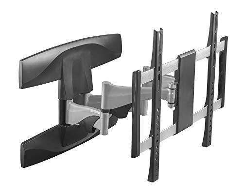 RICOO Supporto da Parete per TV Montaggio S1944 Staffa per televisore Piatto inclinabile Girevole Smart 4K Curvo 3D QLED OLED LED LCD televisori