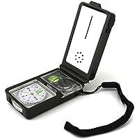Unimango multifunzione tasca Outdoor Campeggio Trekking Gear Kit di sopravvivenza, Gold