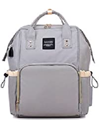 Little Bumpy's Diaper Bag/Bagpack/Nursery Bag/Baby Bag/Mummy Bag/Stylish Bag Pack Cum Baby Traveller Bag/Grey