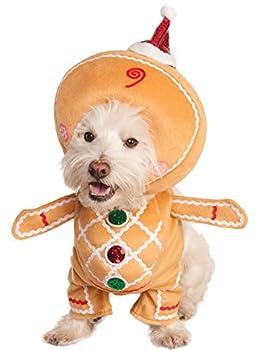 RUBIS fantaisie Marche Homme Pain d'épices pour animal domestique Costume, Large
