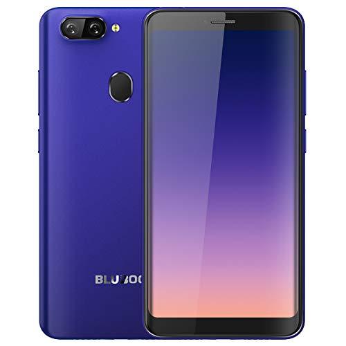 """Smartphone Libre, Bluboo D6 Android 8.1 Dual SIM Teléfono 5.5"""" HD 18:9 Pantalla, Dual Cámara, MT6580A Quad-Core 1.3..."""