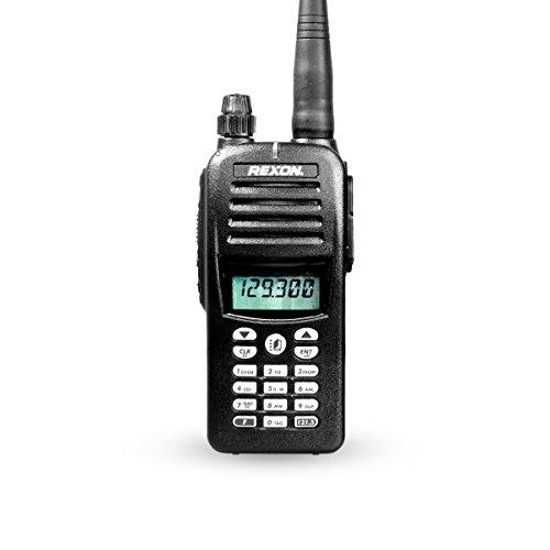 Rexon RHP-530 Flugfunkgerät VHF Handfunkgerät (VOR) für Piloten, Flieger und Luftsportgeräte