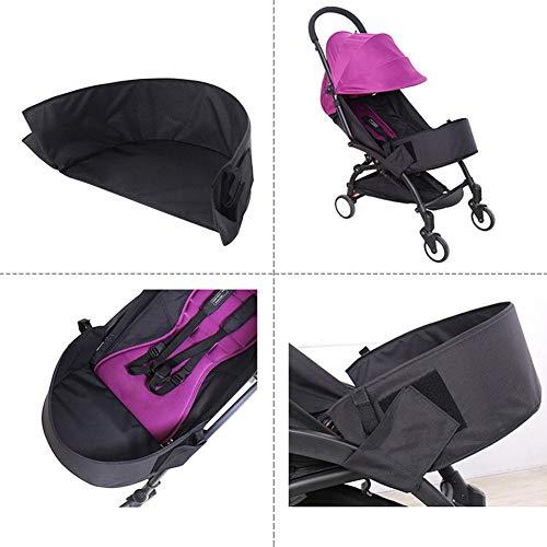 Baby Kinderwagen Universal Fußstütze Extended Sitz Pedal 26 cm40 cm15 cm Kinderwagen Fußstütze aus Oxford-Tuch mit Umweltunterstützungsbrett