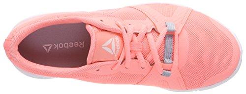 Chaussures Femme Bs8050 Reebok Orange cloud de Gymnastique white Grey Melon Sour C5daafqc