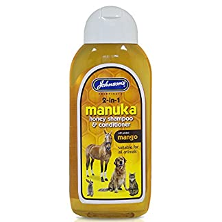 Johnson's Vet Manuka Honey 2-In-1 Shampoo, 200 ml Clear 3