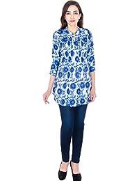 Gaurangi Women's Printed Peplum Top Tunic