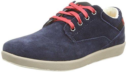 Caterpillar Poe Lo, Low-Top Sneakers mixte enfant Bleu (Navy)