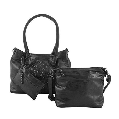 ag in Bag Shopper klein schwarz ()