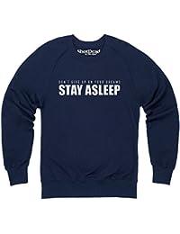 Stay Asleep Sweatshirt mit Rundhals, Herren