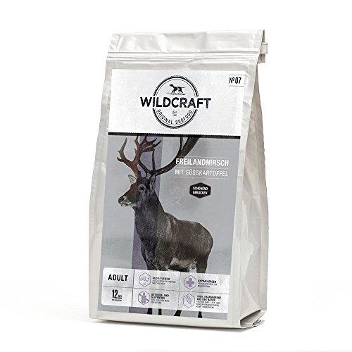Wildcraft | Freilandhirsch mit Süßkartoffel | 12 kg | getreidefreies Hundefutter |...