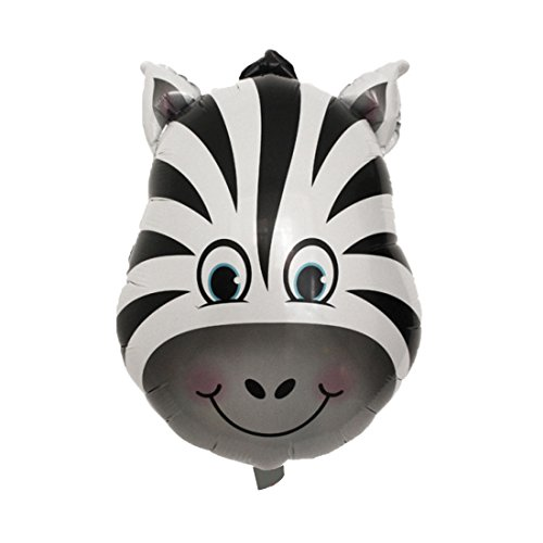 l Folie Familie Zebra Design Inflation Ballon DIY Jahrestag Party Dekor de ()