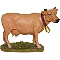 Ferrari & Arrighetti Figuras Belén: Vaca colección Martino Landi para Pesebre de 12 cm
