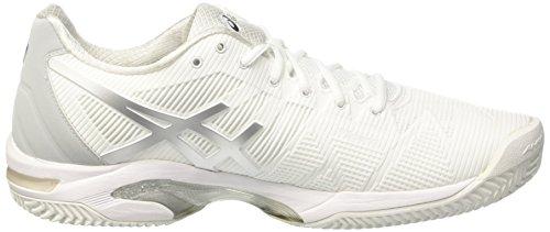 A Homens Asics 3 Gel Prata Sapatos branco Velocidade Marfim Argila De De Ténis Solução ZttFqBdw