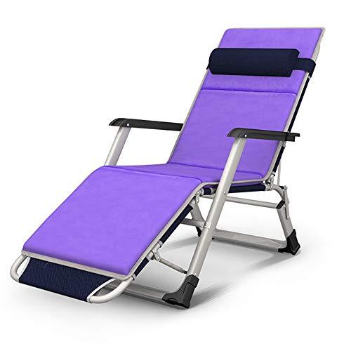XIAOYAN Faltbare Sonnenliege Faltbarer Liegestuhl Gartenstuhl verstellbar 5 Positionseinstellung Multifunktions 2 Farben (Farbe : D)