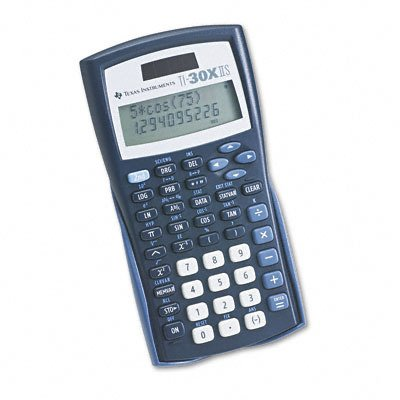 Ti-30x IIS Wissenschaftlicher Taschenrechner 10-stelligem LCD sku-pas511718 - Ti30 Wissenschaftlicher Taschenrechner