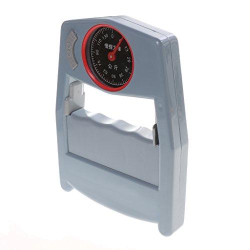 Descripción:       Una herramienta para la fuerza de agarre de medición  Portátil, fácil de llevar  Se puede utilizar en todas partes, facilitarle el ejercicio de fuerza de la mano  Aliviar la fatiga, músculos mejorados  La medición hasta 0 d...