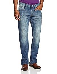 MUSTANG Herren Boot-Cut Jeans Oregon
