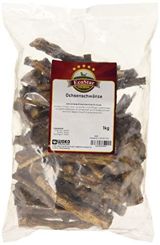 EcoStar Perros Snack rabo puntas 1kg, 1er Pack (1x 1kg)