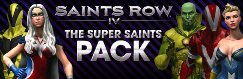 Saints Row 4 Super Saints Pack DLC