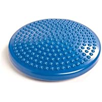 PhysioRoom Junior Air Stability Wobble Cushion 30cm ADHD - Balance Cushion Board, Fitness Exercise Workout, Rehabilitation, Posture Trainer, Improving Core Strength, Relieving Back Pain - AB3029