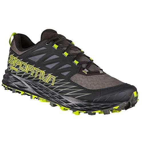La Sportiva Lycan GTX, Zapatillas de Trail Running para Hombre, Multicolor Carbon/Apple Green 000...