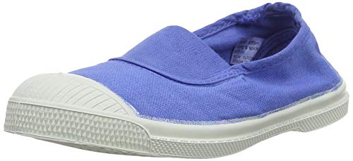 Bensimon Tennis Elastique, Baskets Mixte Enfant, Bleu (Horizon 0504), 29 EU