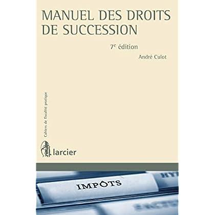 Manuel des droits de succession