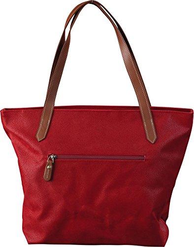Jump, borsa marrone cioccolato 17 litri Red