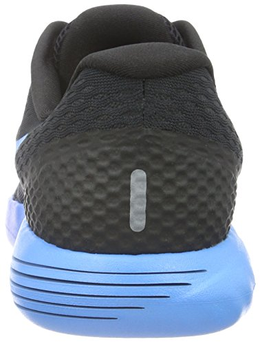 Nike Lunarglide 8, Chaussures de Running Compétition Homme Noir (Black / Multi-Color-Deep Blue Royal)