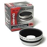 Opteka 0,45x HD2Weitwinkel Objektiv für Canon Vixia HF G10, S10, S100, S11, S20, S200, S21, S30, LEGRIA HF S10, S11, S21, XF100, XF105, GL1und GL2Digital Video Kamera
