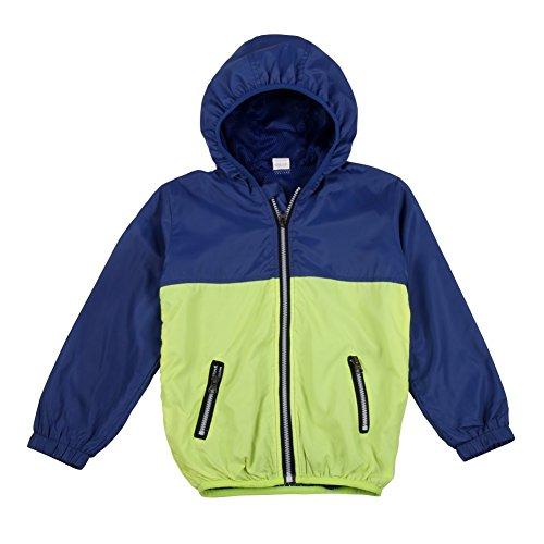 Bornbay Kinder Baby Jacke warm winddicht Mäntel atmungsaktiv mit Kapuze Übergangsjacke (Alter 2-7)
