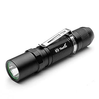 ThorFire TG06 XP-G2 CREE LED Lampe torche Max EDC 185LM utiliser AA/14500 900mAh 3.6V batterie