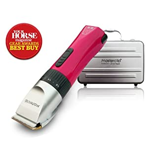 Masterclip Award Winning Showmate Horse Clipper Trimmer in Pink Masterclip Award Winning Showmate Horse Clipper Trimmer in Pink 41iJ9xwfB8L