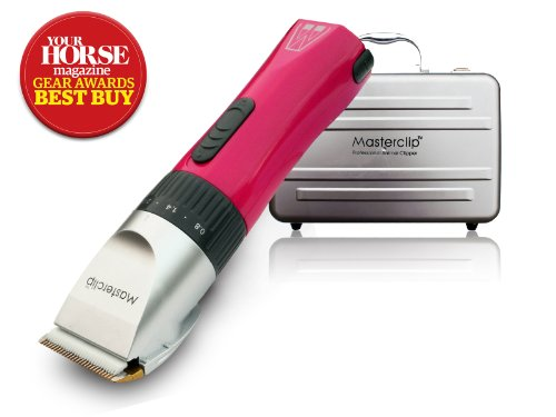 Masterclip Akku Trimmer für Pferde, Showmate Horse Trimmer in Pink - Pocket Clipper Pet