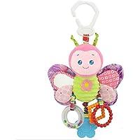 Cot Toys Kinderwagen Cot Buggy Kinderwagen Auto Sitz drehende Hänge Rasseln baumeln Spielzeug preisvergleich bei kleinkindspielzeugpreise.eu