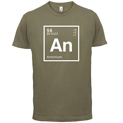 Anton Periodensystem - Herren T-Shirt - 13 Farben Khaki