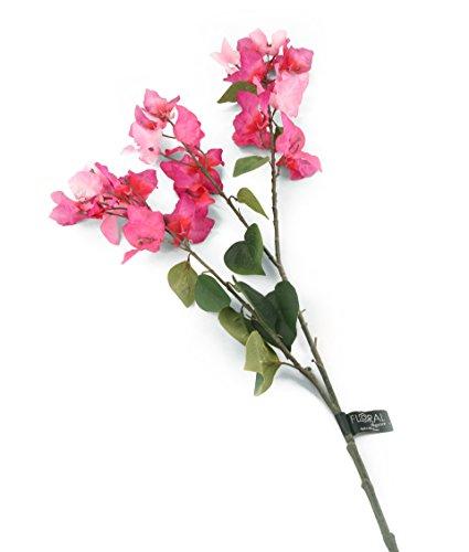 Floral Elegance F077LPL - 1 Bougainviller artificiel magenta de 107 cm
