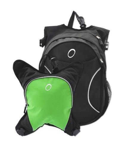 obersee-zaino-munich-con-borsa-frigo-rimovibile-verde-black-green