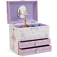 JewelKeeper - Großes Spieluhr Schmuckschatulle mit 2 Schubladen - Verschiedene Modelle zur Auswahl preisvergleich bei kleinkindspielzeugpreise.eu