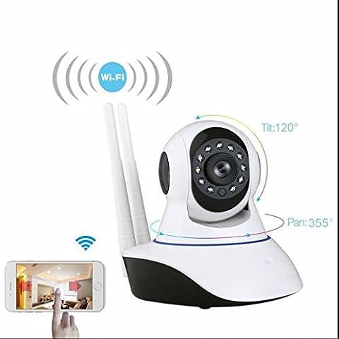 Wireless indoor ip kamera Büro ip kamera,gebaut Mikrofon und Lautsprecher,SD Karte Storage,klare Tonübertragung,intelligente Rauschunterdrückung,Audio zum Gegensprechen