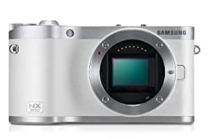 Samsung SMART NX300 Compact System Camera with 20-50mm Lens - White (20.3 MP, CMOS Sensor) 3.3 inch Amoled