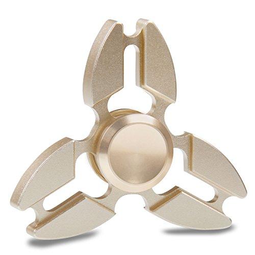 Produktbild Fidget Hand Spinner,  Tronisky Tri-Spinner Fidget Spielzeug Hybrid Aluminium Metall High Speed Finger Spinner Toy Geschenke für Erwachsene