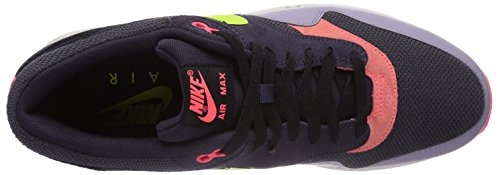 Nike Air Max 1 Essential, Baskets mode homme Multicolore (Cave Purple/Frc Green-Prpl Stl)