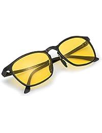 00b1f4a010 Myiaur Gafas De Sol Amarillas Conducir Nocturnas para Mujer Polarizadas -  Protección ...